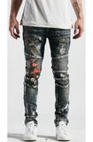 Embellish Cookie Biker Denim