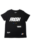 CMYK Fresh Air Youth Black Tee