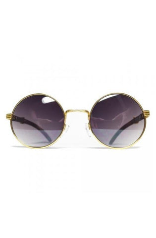 Roial Buffalo Carter Wood Sunglasses (Gold)