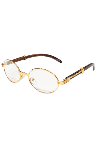 Time Oval Carter Glasses