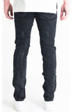 Embellish Trenton Black Rip Denim