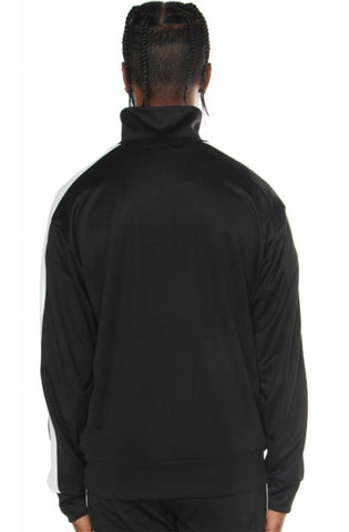 EPTM Half Zip Black Track Jacket