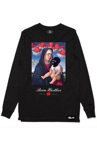 Hasta Muerte Family First Chenille Patch Tee (Black)