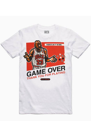 Streetwear Official MJ 8 Bit White Tee