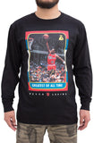 Stay Winning G.O.A.T. Rookie Card Long Sleeve Black Tee