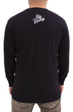 Stay Winning All Hustle No Luck Bruce Long Sleeve Black Tee
