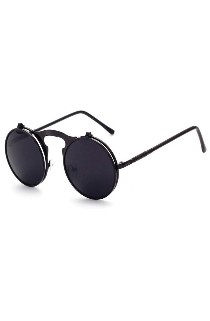 Roial Future Flip Up Sunglasses (Black)