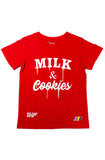 CMYK Milk & Cookies Youth Red Tee