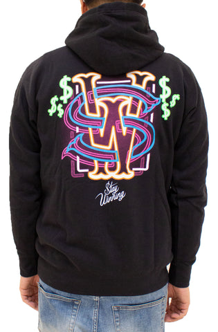 Stay Winning Westside Neon Black Hoodie