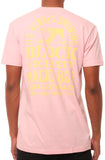 Eight & Nine Pablo Snow Vintage Pink Tee