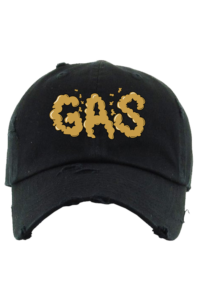 Planet Of The Grapes Gas Dad Hat (Black/Gold)
