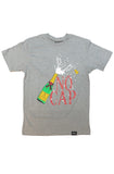 Planet Of The Grapes No Cap Gray Tee