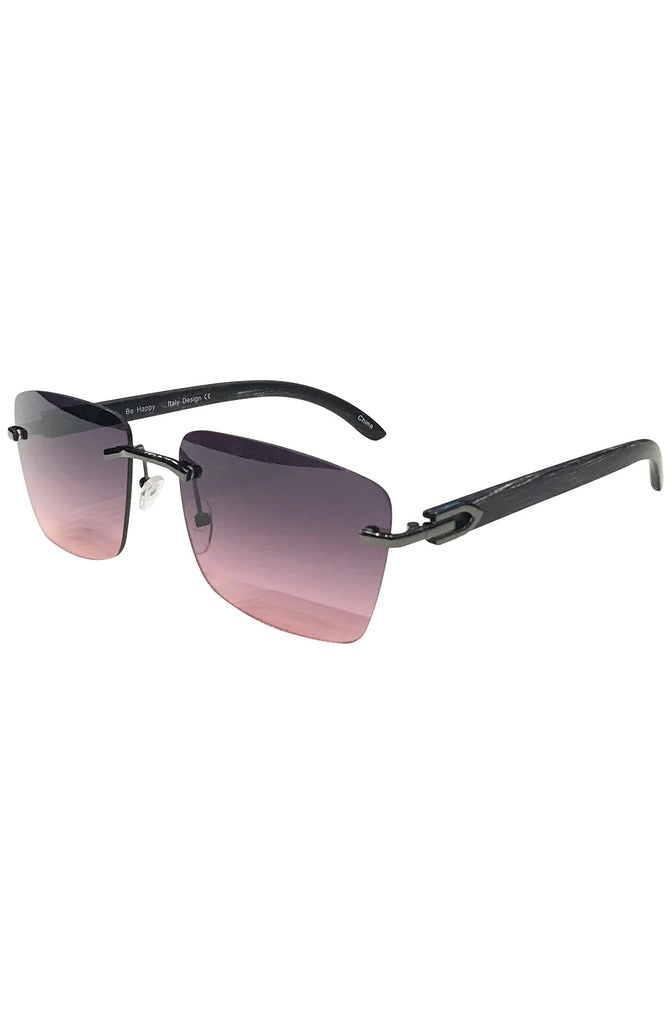 Floats Miami Purple Sunglasses (Black)