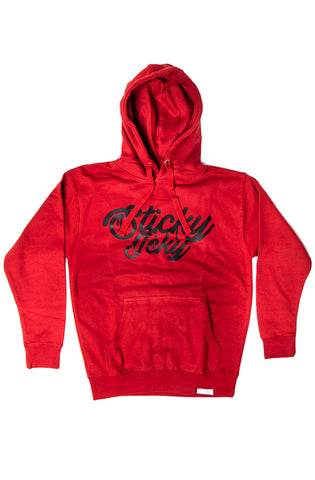 Sticky Icky Red/Black Pullover Hoodie