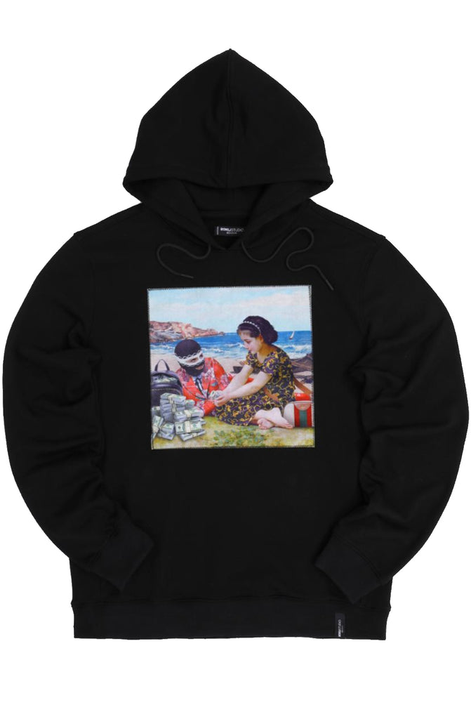 Roku Studio Children Trap Hoody (Black)