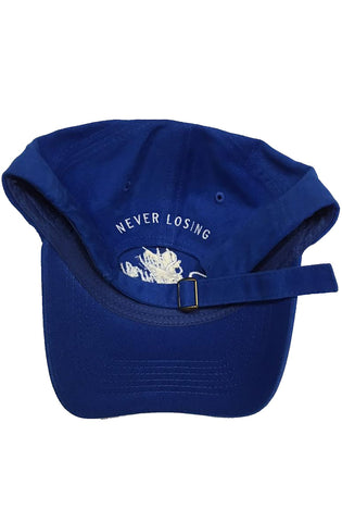 Stay Winning Royal Blue/White Dad Hat