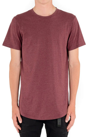 Kuwalla Scoop Tee (Heather Grey)