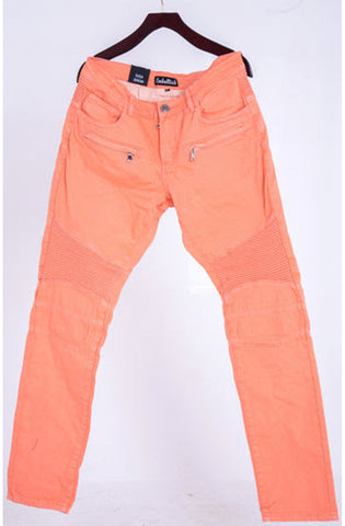 Embellish Salmon Biker Denim