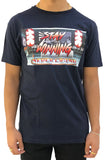 Stay Winning Rising Sun Navy Tee