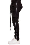 EPTM Reflective Twill Cargo Pants (Black)