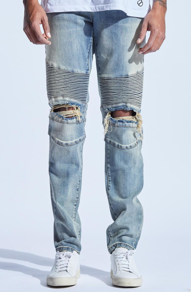 Embellish Sloan Biker Denim