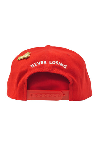 Stay Winning Red/White Snap Back Hat