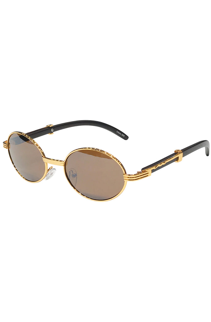 Time Oval Carter Sunglasses