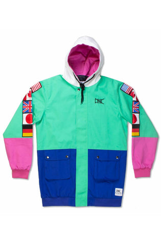 Ethik Mint World Renowned Hooded Twill Jacket