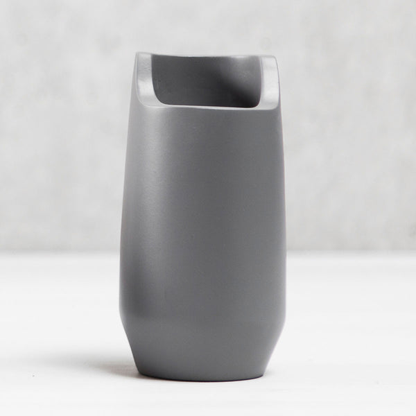 Object 002 - Tall Desk Cup - Medium Grey
