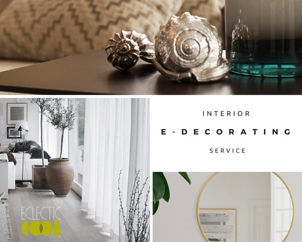 Eclectic cool Interior E-decorating service