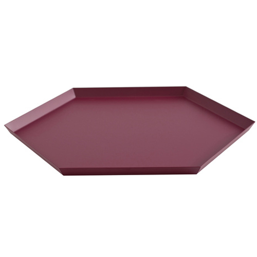 HAY KALEIDO TRAY / XL/ AUBERGINE - Eclectic Cool  - 1