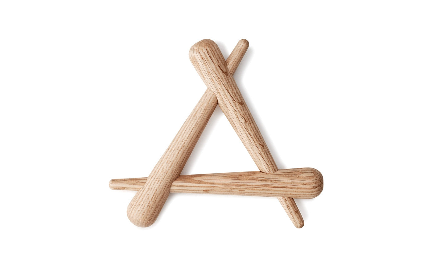 NORMANN COPENHAGEN TIMBER TRIVET - Eclectic Cool  - 1