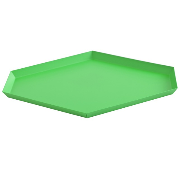 HAY KALEIDO TRAY/ L / GREEN - Eclectic Cool