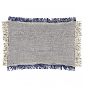 HAY FRAY CUSHION - DOUBLE FACE GREY (Multicolour)