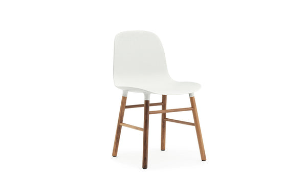 NORMANN COPENHAGEN FORM CHAIR WITH WALNUT BASE - Eclectic Cool