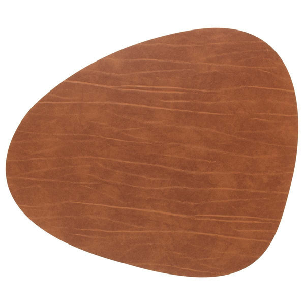 LINDDNA TABLE MAT CURVE L NATURE/BUFFALO