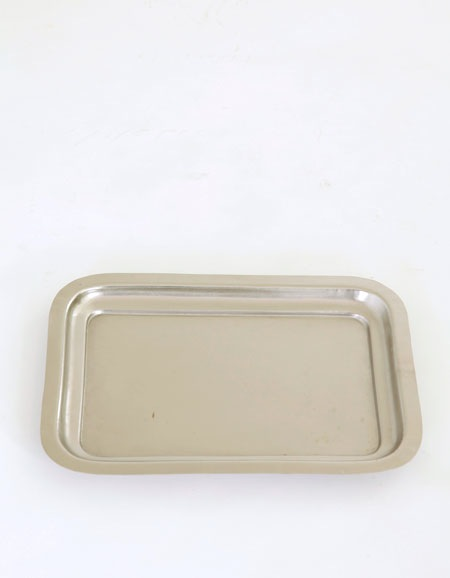 FOGLINENWORK SILVER PLATED TRAY RECTANGLE M - Eclectic Cool