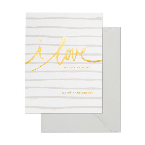 SUGAR PAPER LOVE MY LIFE CARD - Eclectic Cool