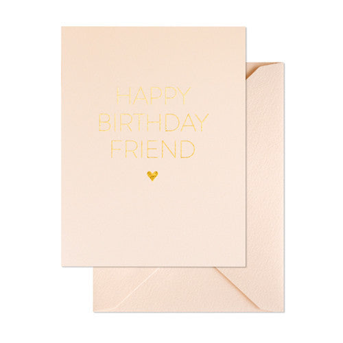 SUGAR PAPER FRIEND BIRTHDAY CARD - Eclectic Cool