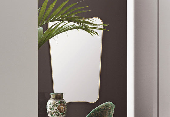 GUBI GIO PONTI RECTANGULAR WALL MIRROR - Eclectic Cool  - 1