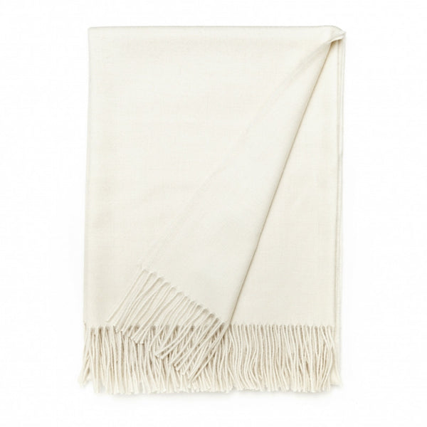 ELVANG LUXURY PLAID THROW - OFF WHITE - Eclectic Cool