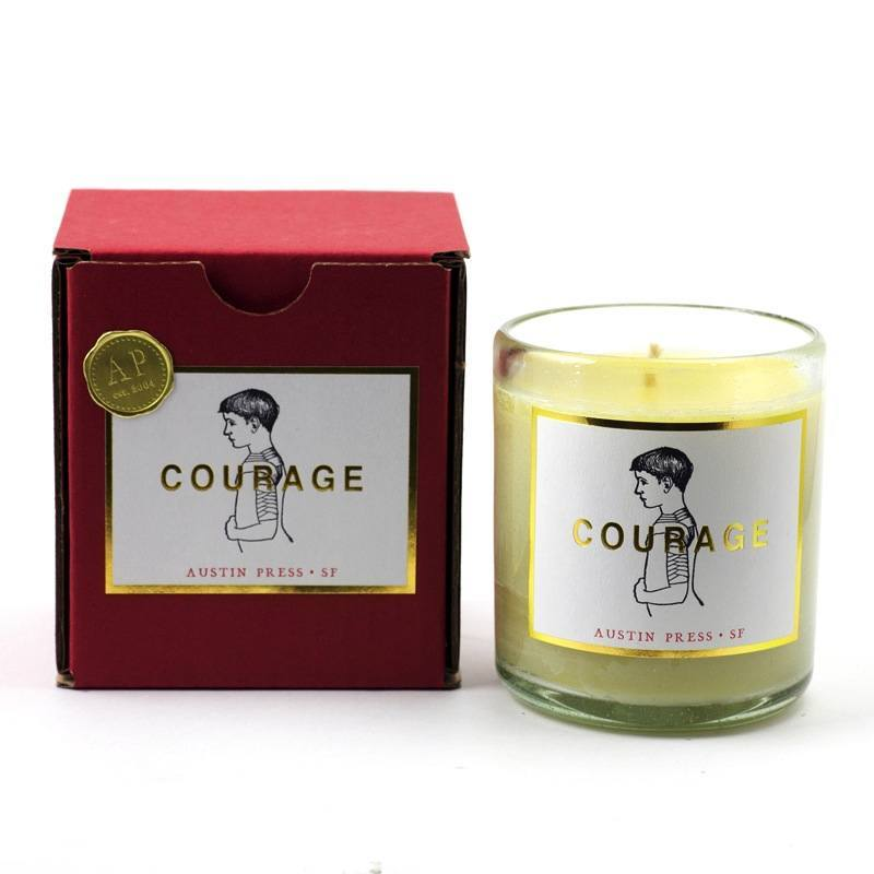 Austin Press Courage Candle - Eclectic Cool