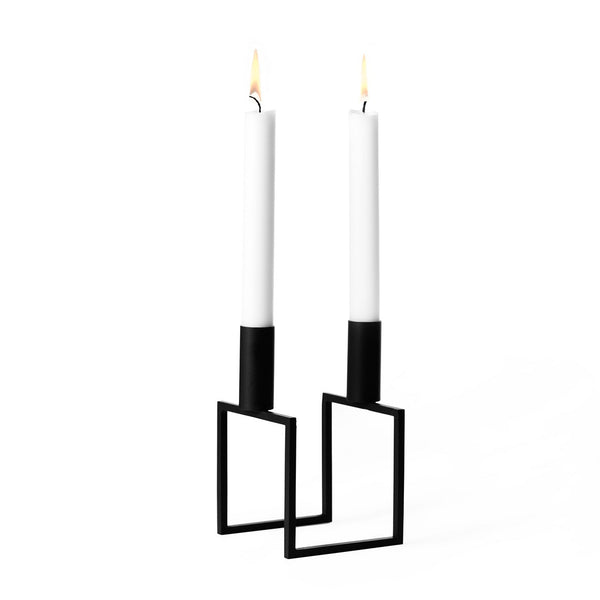 By Lassen Line Candlestick, black - Eclectic Cool  - 1