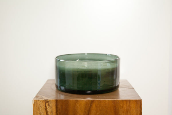 HENRY DEAN CYLINDER ROUND CANDLE 10/20 IN SMOKE - Eclectic Cool