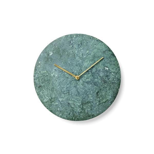 MENU Marble Wall Clock, Green - Eclectic Cool  - 1