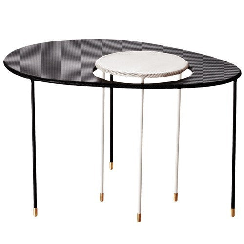 GUBI MATEGOT KANGOUROU TABLE IN  BLACK AND WHITE - Eclectic Cool