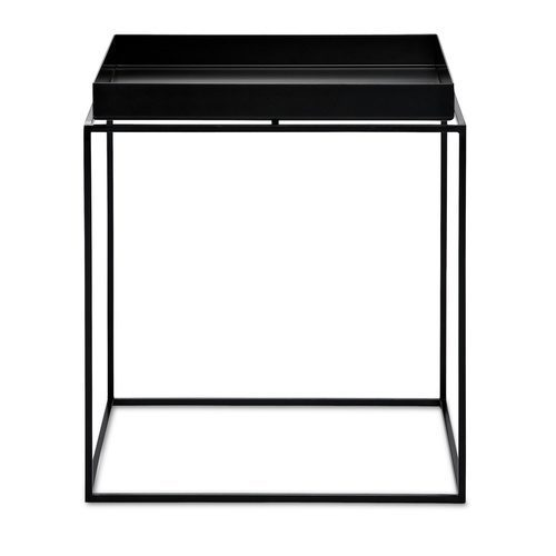 HAY TRAY TABLE - BLACK - MEDIUM SQUARE - Eclectic Cool  - 1