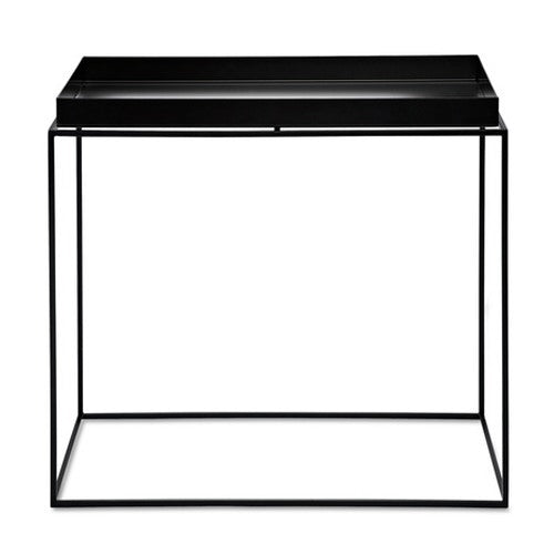 HAY TRAY TABLE - BLACK - SIDE TABLE RECTANGULAR 40X60XH54 - Eclectic Cool  - 1