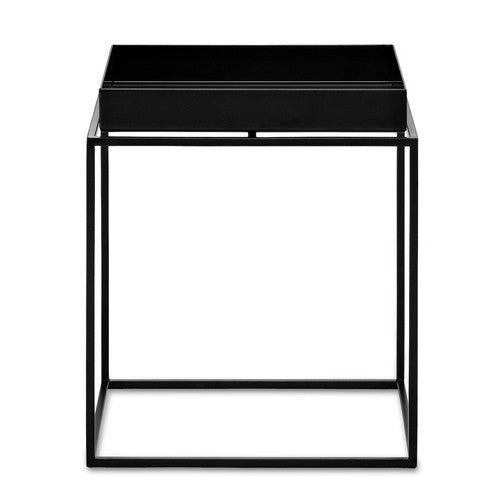 HAY TRAY TABLE - BLACK - SMALL SQUARE 30X30X H34CM - Eclectic Cool  - 1