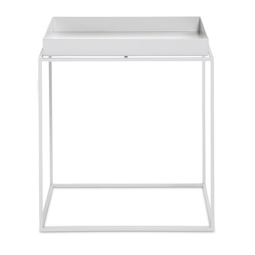 HAY TRAY TABLE - WHITE -  MEDIUM SQUARE - Eclectic Cool  - 1